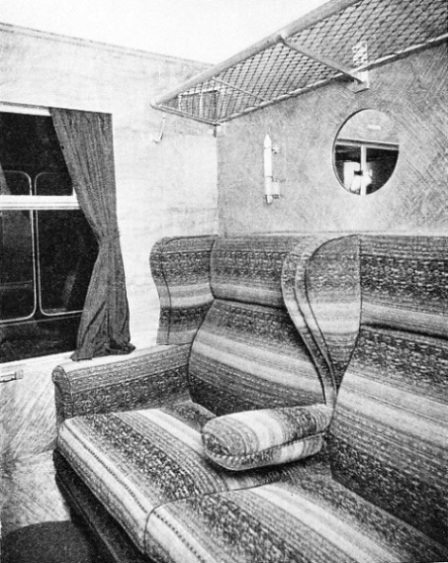 "the first-class accommodation of ""The Coronation Scot"""