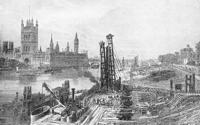 Building the Albert Embankment