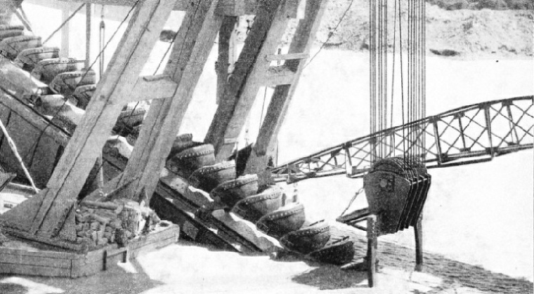 The Chain of Buckets in a Gold Dredge