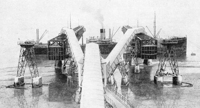 A Steamer Being Loaded With Phosphate