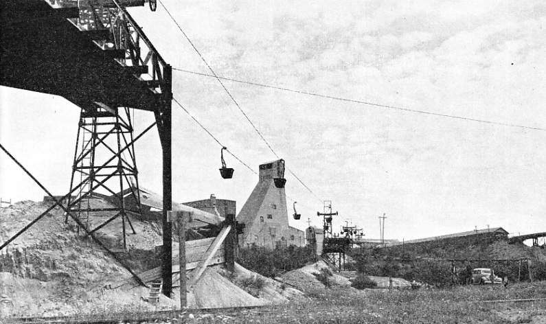 At the Hollinger Consolidated Gold Mines Limited, Timmins, Ontario