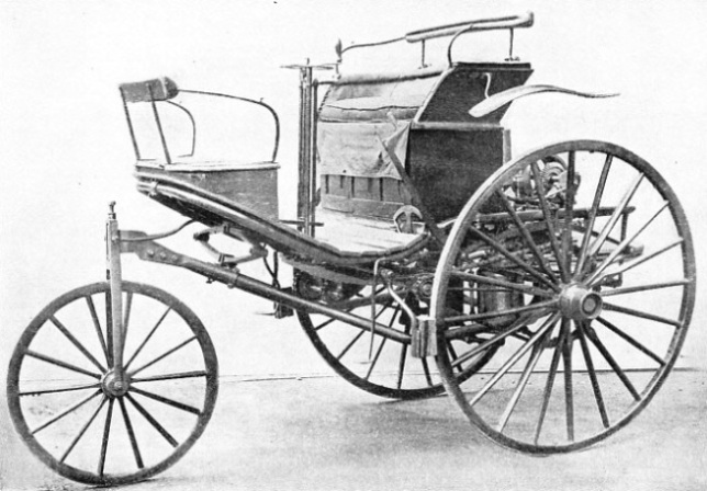 RACK-AND-PINION STEERING was a feature of the 1888 Benz car