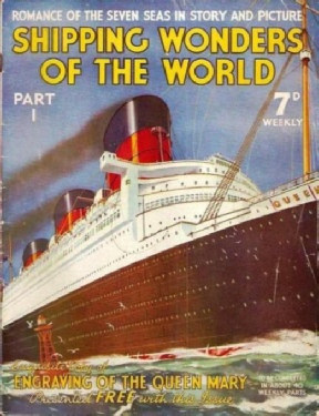 Cover of the first issue of Shipping Wonders of the World