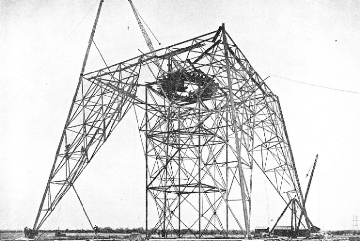 The North Suspension Tower of the Thames Grid Crossing