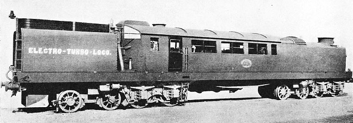 """ELECTRO-TURBO-LOCO"" built by Reid and Ramsay in 1909-10"