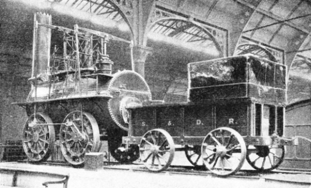 """Locomotion"" was the first engine of the Stockton and Darlington Railway"