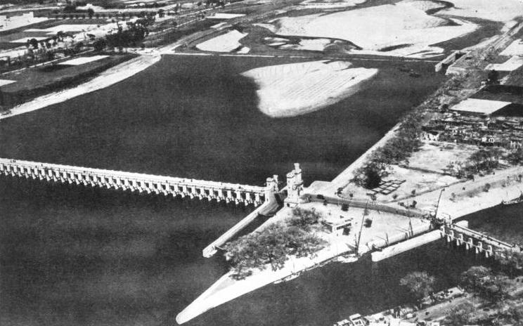 THE DELTA BARRAGE in Lower Egypt