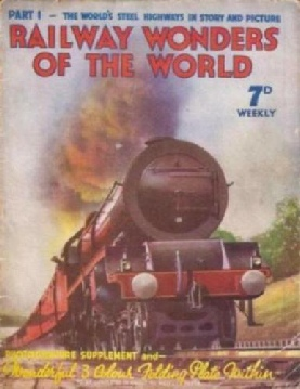 Cover of the first issue of Railway Wonders of the World