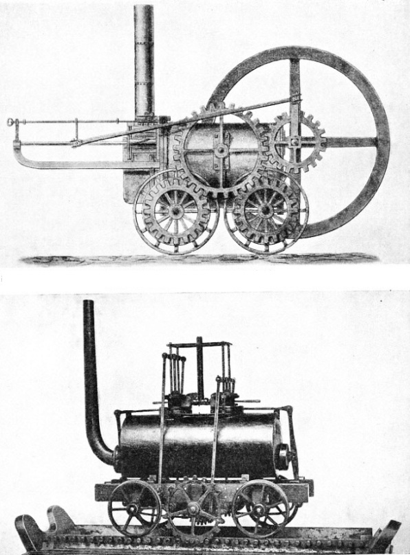 Origin of the locomotive