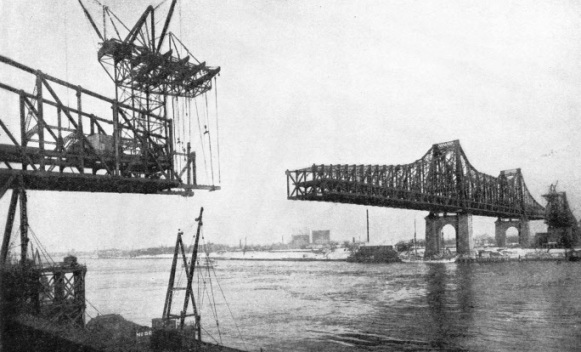 Queensboro' Bridge Under Construction