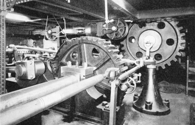 Machinery Operating the Bascules of Tower Bridge